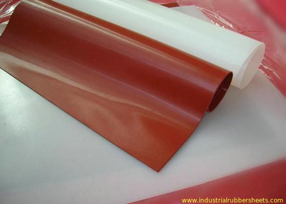 Porcellana Commestibile vergine 100% traslucido di Rolls dello strato della gomma di silicone senza odore distributore